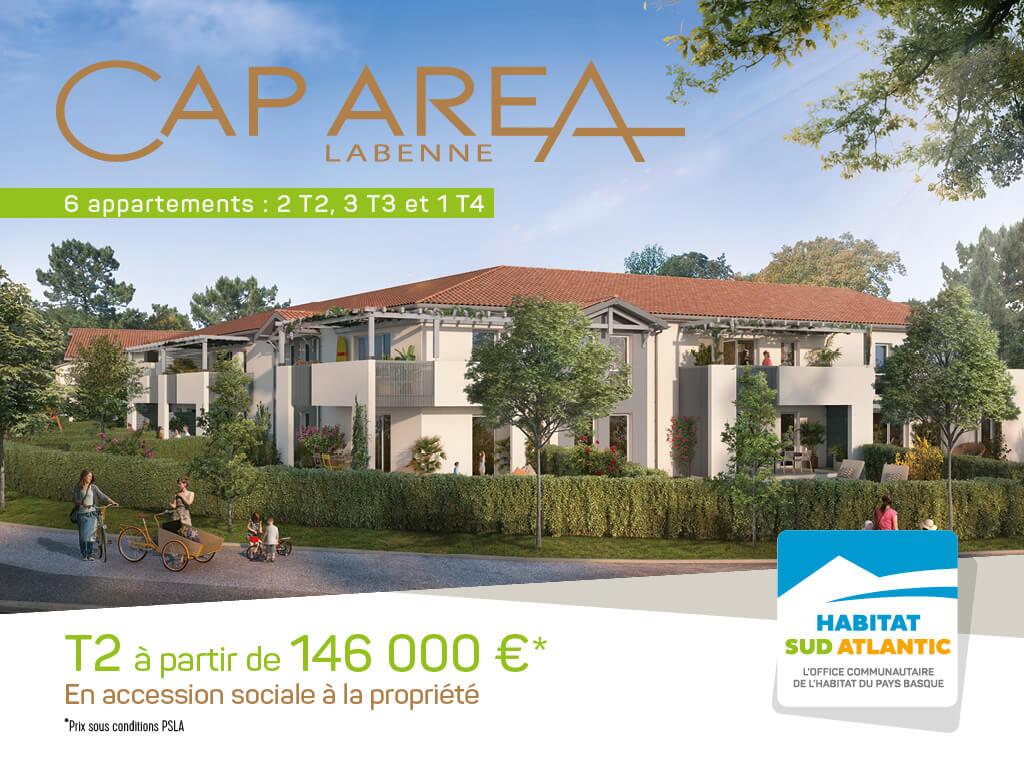 Cap Area : devenez propriétaire à Labenne