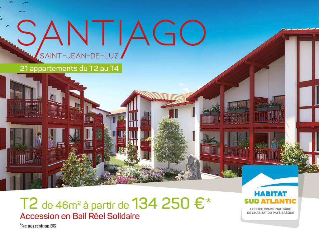 Santiago : propriétaire à St-Jean de Luz