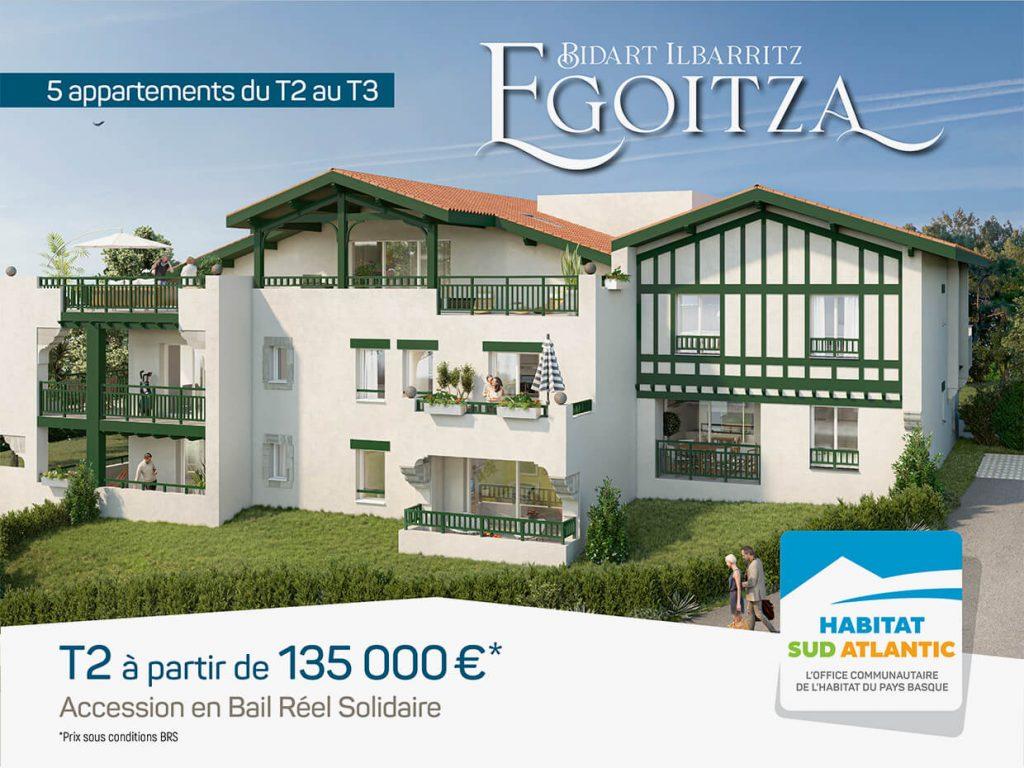 Egoitza : propriétaire à Bidart