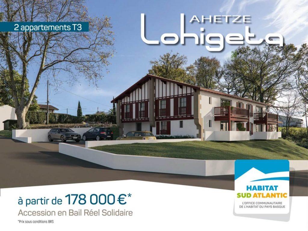 Lohigeta : propriétaire à Ahetze