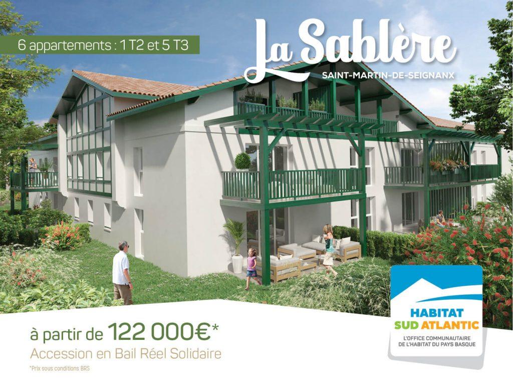 La Sablère : propriétaire à Saint-Martin-de-Seignanx