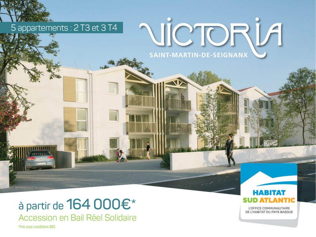 Victoria : propriétaire à Saint-Martin-de-Seignanx